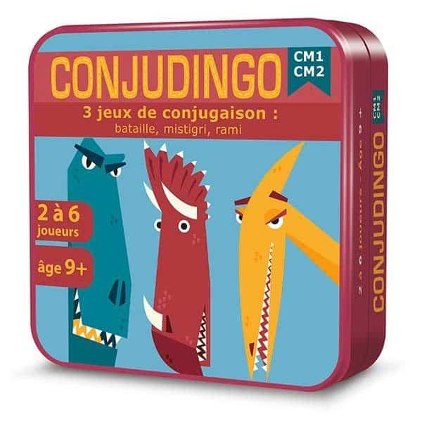 Boite 3D en métal du jeu de cartes OrthoDingo CE2