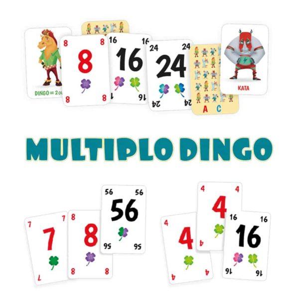 Les cartes du jeu MultiploDingo