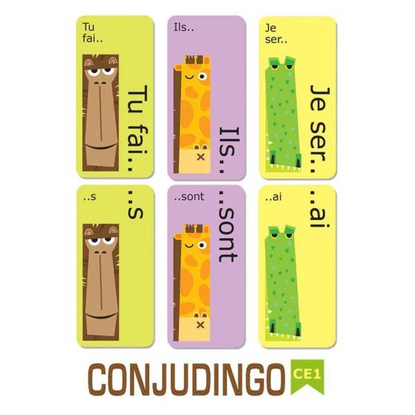Les cartes du jeu Orthodingo CE2