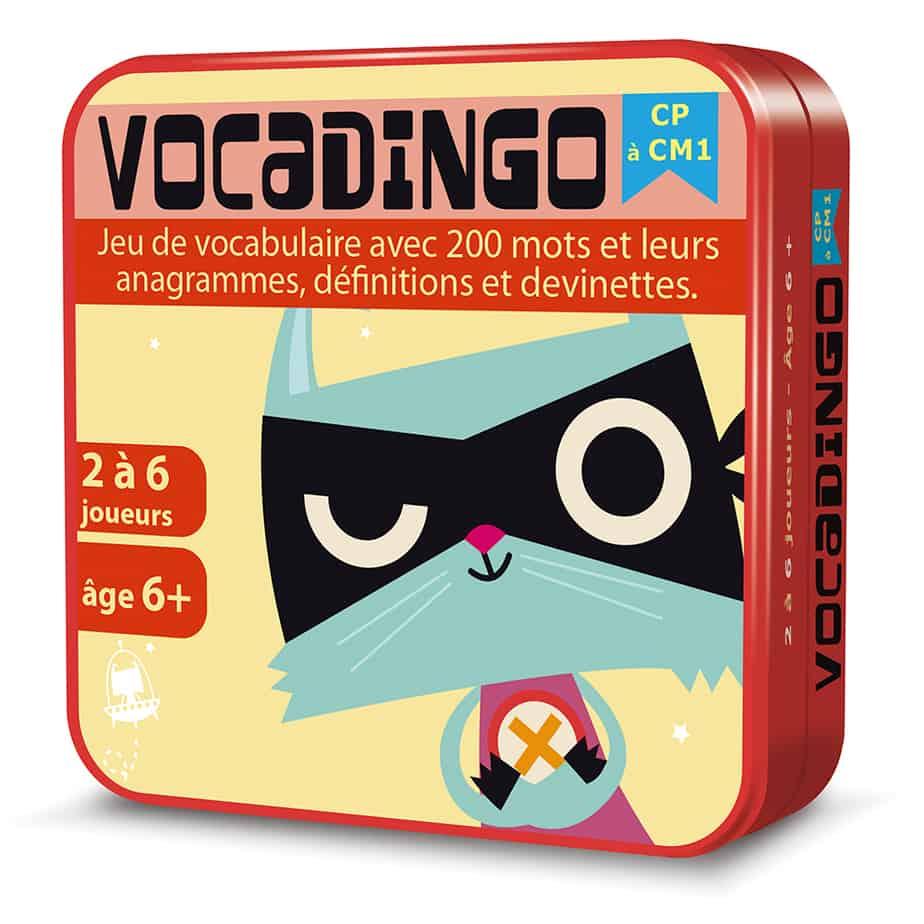 Boite 3D en métal du jeu de cartes Vocadingo CP-CM1