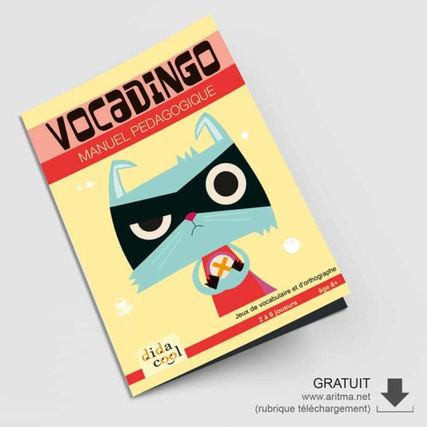 Manuel pédagogique du jeu Vocadingo CP-CM1