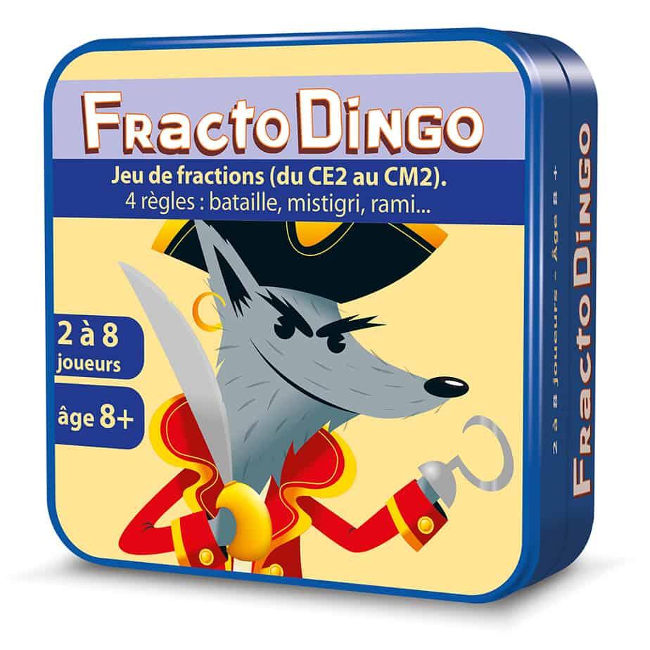 Boite métal 3D du jeu de cartes FractoDingo