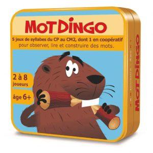 Boite 3D en métal du jeu de cartes MotDingo