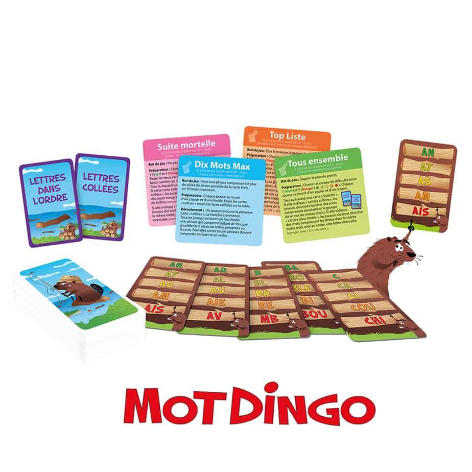 Contenu du jeu MotDingo