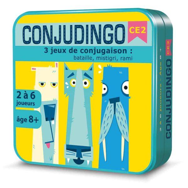 Boite 3D métal du jeu de cartes ConjuDingo CE2