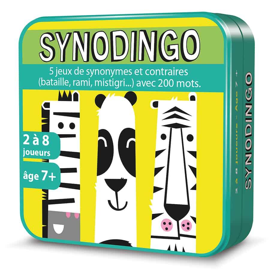 Boite 3D en métal du jeu de cartes SynoDingo