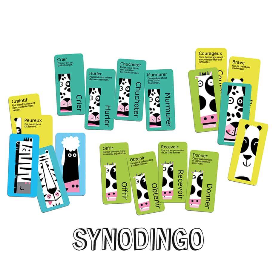 Contenu du jeu SynoDingo