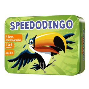 Boite 3D en métal du jeu SpeedoDingo