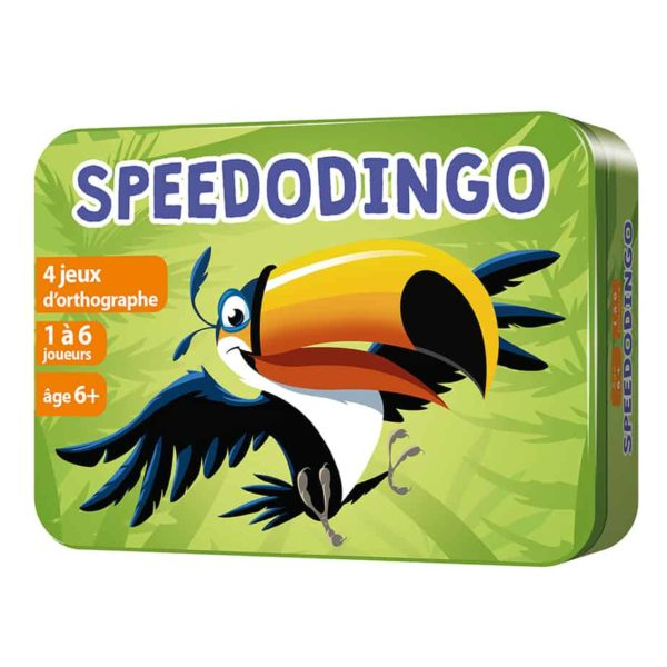 Boite 3D en métal du jeu SpeedoDingo