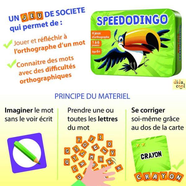 Principe du matériel de jeu SpeedoDingo
