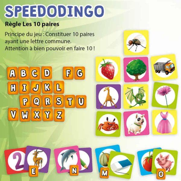 Explication de la règle les 10 paires de SpeedoDingo