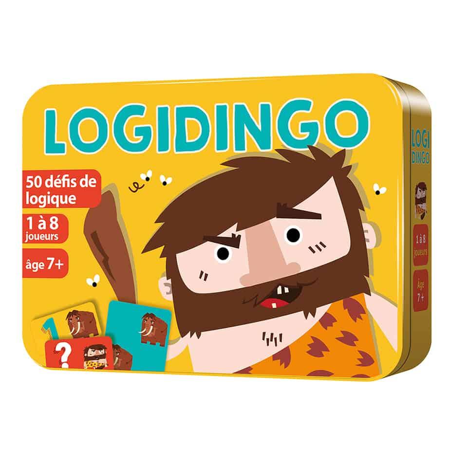 Boite 3D en métal du jeu LogiDingo