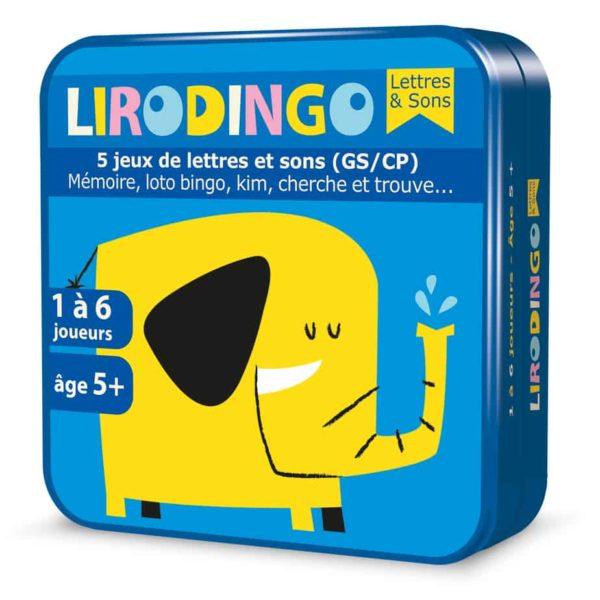 Boite 3D en métal du jeu LiroDingo