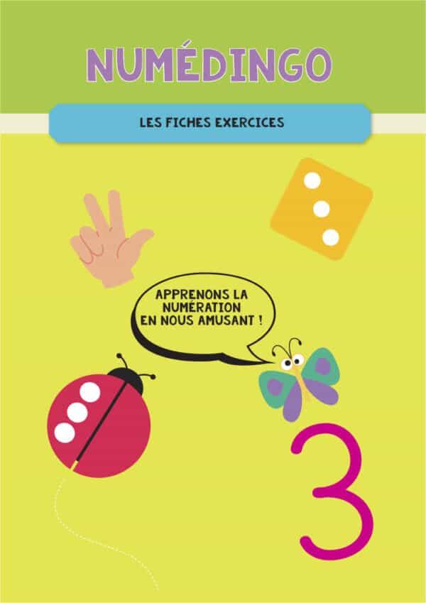 Couverture cahier d'exercices Numédingo